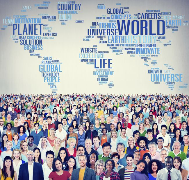 World Globalization International Life Planet Concept