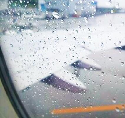 飛行機の窓からの景色 Scenery from the window of the airplane