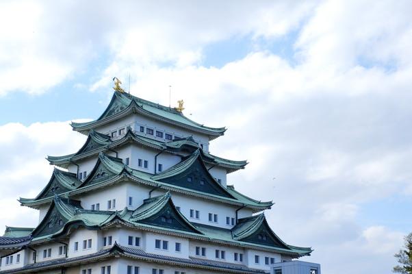 The appearance of Fukuoka-jo Castle福岡城の外観