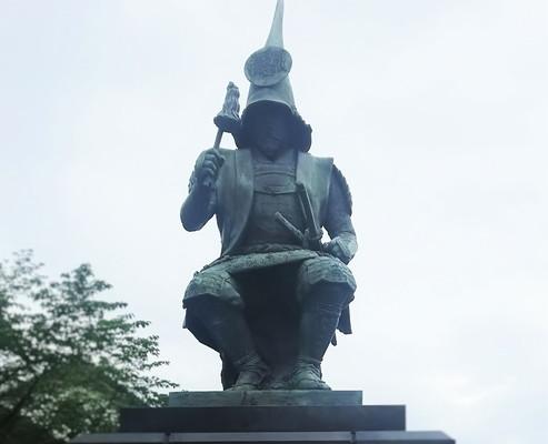 加藤清正像katokiyomasa