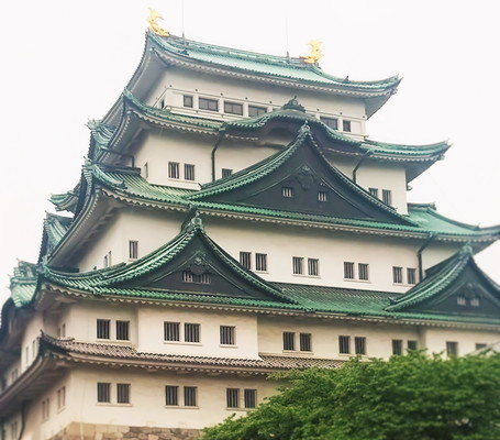 名古屋城外観The Nagoya-jo Castle appearance