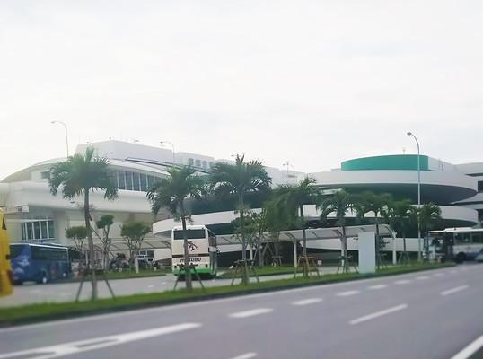 那覇空港外観 The Naha Airport appearance