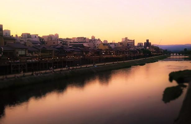 京都夕暮れ Kyoto At dusk