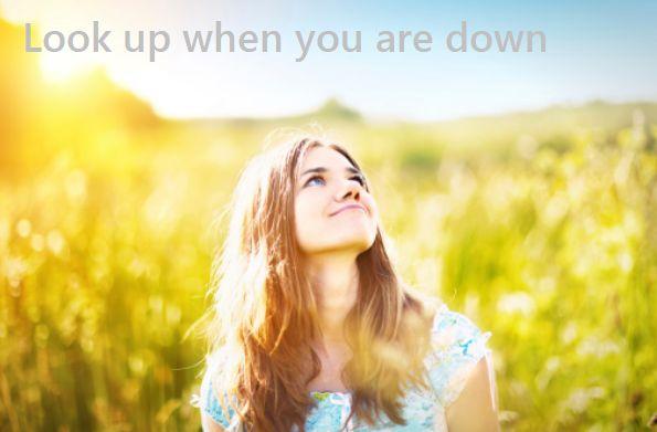 【1分で自分を変える言葉】つらいときこそ、上を向く