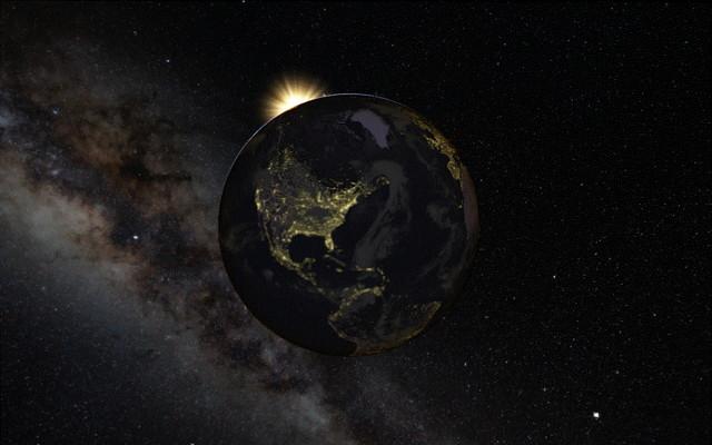 【1分で自分を変える】もし何かに悩んだら「Google earth」(グーグルアース)で世界、そして宇宙を見てみよう!