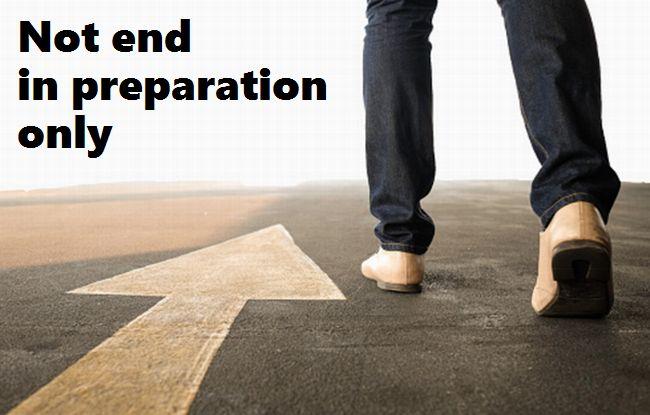 【1分で自分を変える言葉】実行せずに準備だけで終わらせない