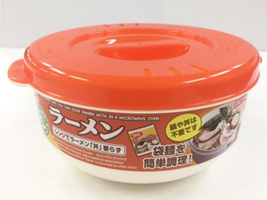 【体験レビュー】ダイソーの『レンジでラーメン「丼」いらず』を使ってみた!!