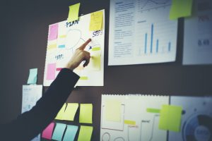 Business Chart Organization Planning Marketing Concept